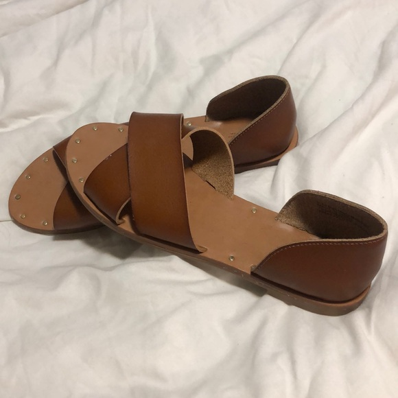 3dc646fcd Universal Thread Shoes | Leather Summer Sandals | Poshmark